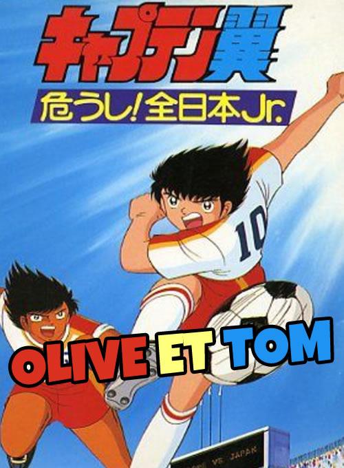 Les personnages d'Olive et Tom