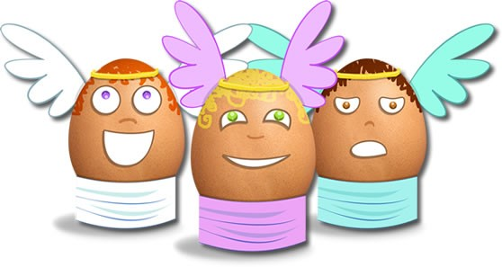 Les œufs Cupidon