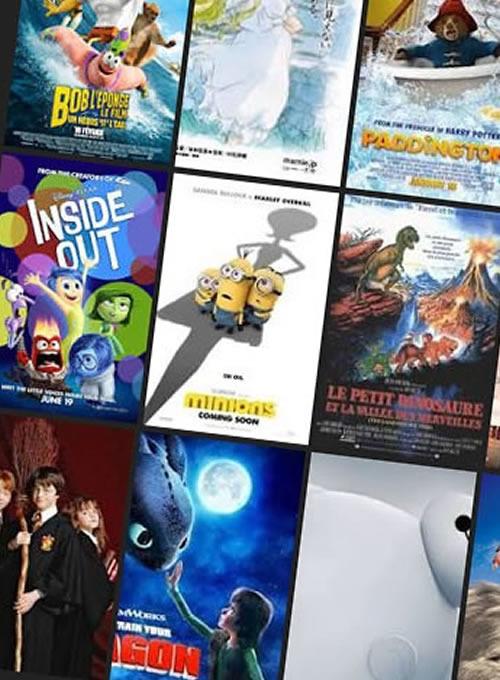 Sélection de films pour enfants