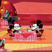 Court métrage Mickey mouse : Mickey Mouse : Dingo tient la chandelle