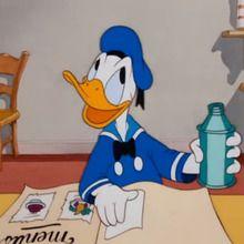Dessin animé : Donald fait la cuisine !
