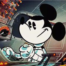 Court métrage Mickey mouse : Mickey Mouse : Promenade dans l'espace
