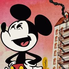 Court métrage Mickey mouse : Mickey Mouse : L'incendie