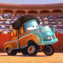 Court-métrage de Cars : Martin se la raconte : El Martindor
