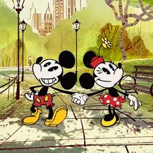 Court métrage Mickey mouse : Mickey Mouse : Un hot-dog à New York