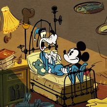 Court métrage Mickey mouse : Mickey Mouse : Une nuit agitée !