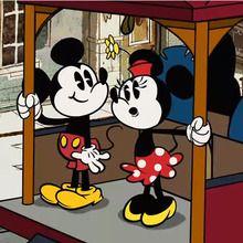 Court métrage Mickey mouse : Mickey Mouse : Panique dans le tramway
