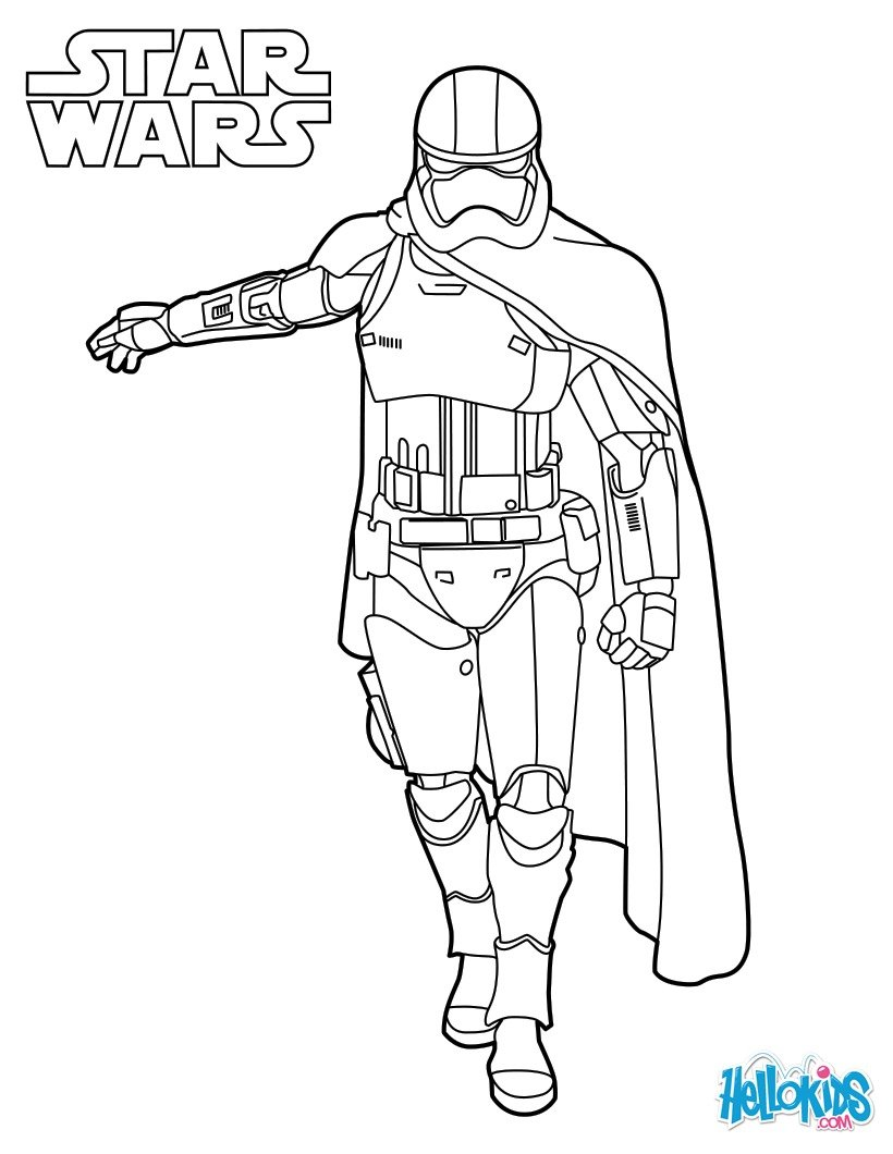 star wars coloring pages bb 8 - coloriages capitaine phasma le r veil de la force fr