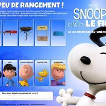 Jeu : Les affaires mélangées : Snoopy