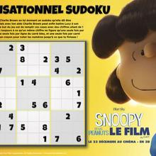 Jeu : Sudoku de Snoopy et les Peanuts
