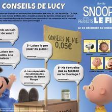 Jeu : Snoopy et les Peanuts : Les conseils de Lucy