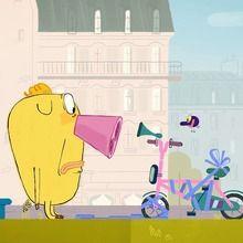 Hubert et Takako en vidéo : Beau comme un vélo