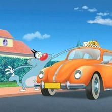 Dessin animé : Taxi