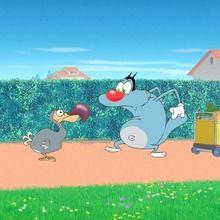 Dessin animé : Oggy et le Dodo