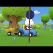 Dessin animé de Musti 3D : En voiture