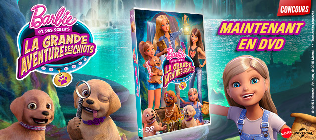 Barbie et les chiots