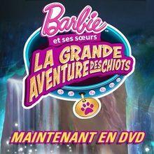 Gagnants des DVD de Barbie - La grande aventure des chiots