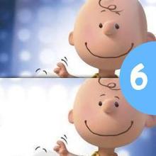 Jeu des différences : Snoopy
