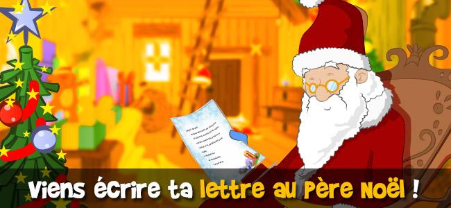 Ecrire lettre Père Noël