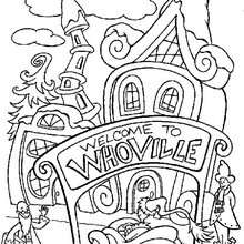 Coloriage : Whoville