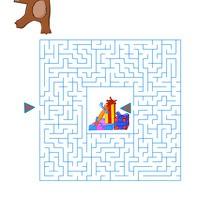 Labyrinthe : Labyrinthe de l'ours en peluche