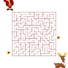Labyrinthe : Le labyrinthe de Rudolph le renne