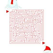 Labyrinthe : Le labyrinthe du Bonhomme de neige