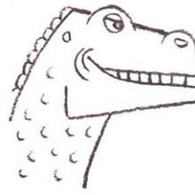 Tuto de dessin : L'Iguanodon