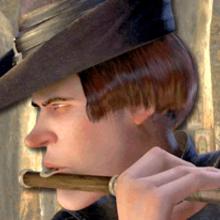 Jeu : Fais un duel avec le joueur de Flûte de SHREK 4