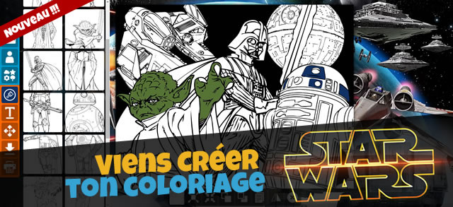 Star wars - Coloriage angry bird star wars ...