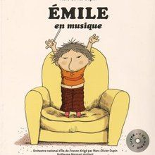Emile en musique - Livre CD