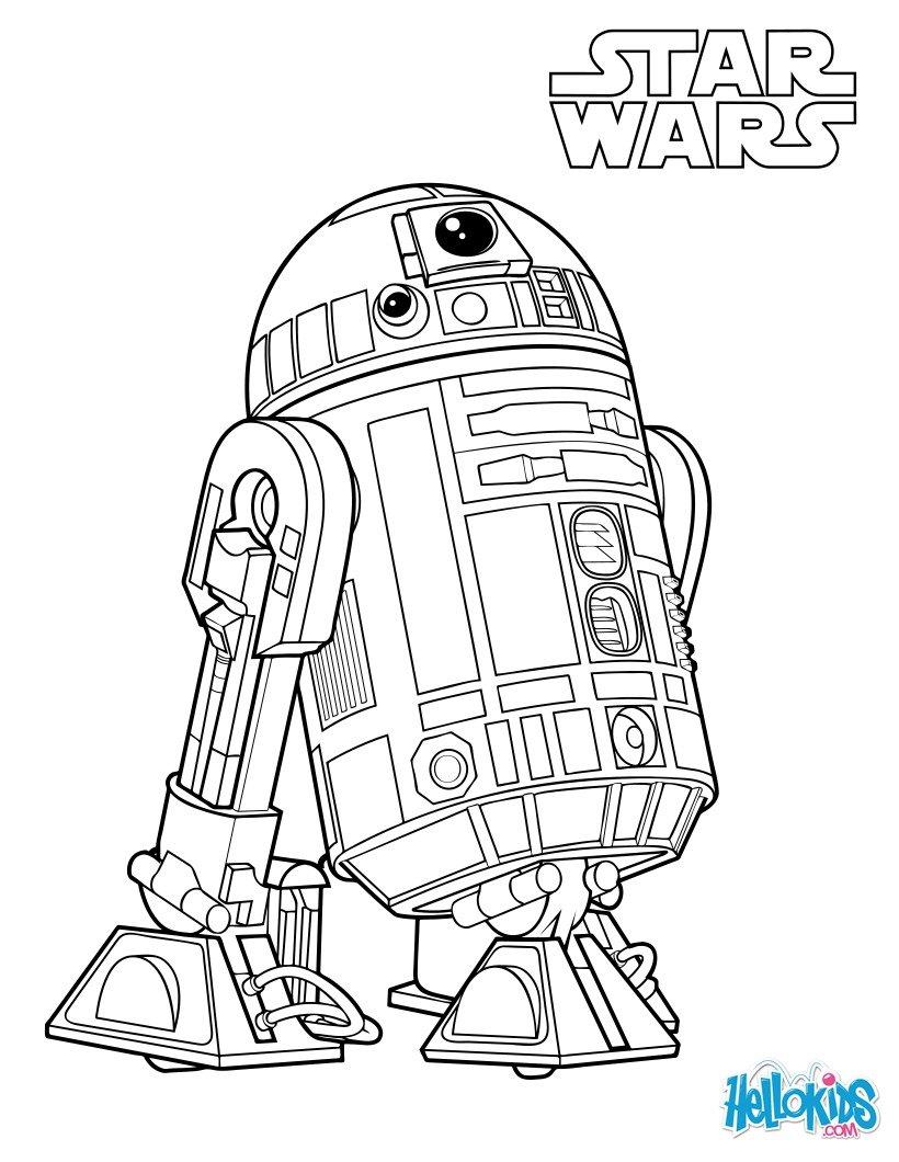 Coloriages r2 d2 le dro de de luke skywalker - Dessin star wars lego ...