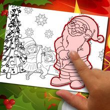 éditeur de coloriage : Fabriquer un coloriage de Noël