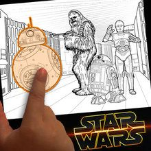 éditeur de coloriage : Créer un coloriage Star Wars