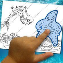 éditeur de coloriage : Fabriquer un coloriage : le monde aquatique