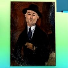 Paul Guillaume, Novo Pilota de Modigliani