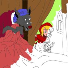 Les contes de Perrault à colorier