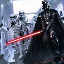 Dark Vador et ses stormtroopers