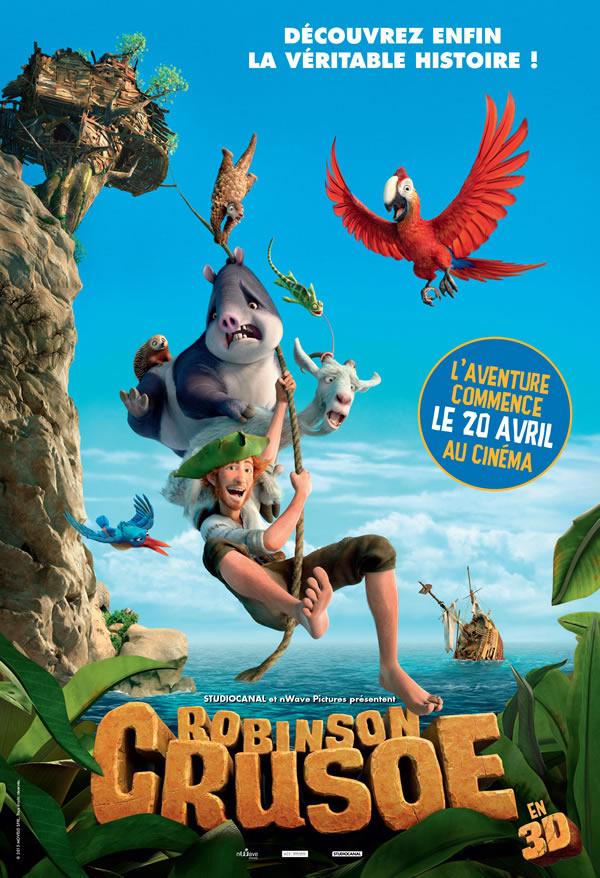 Robinson Crusoé bientôt sur grand écran !