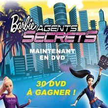 Gagnants des DVD de Barbie - Agents Secrets