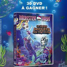 Gagnants des DVD de Monster High : La grande barrière des frayeurs