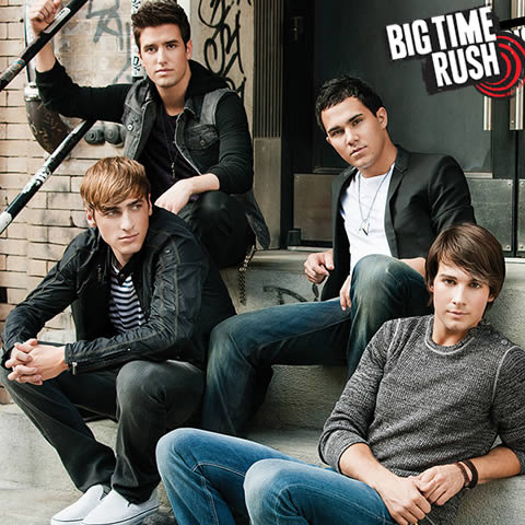 Big Time Rush, la série phénomène !