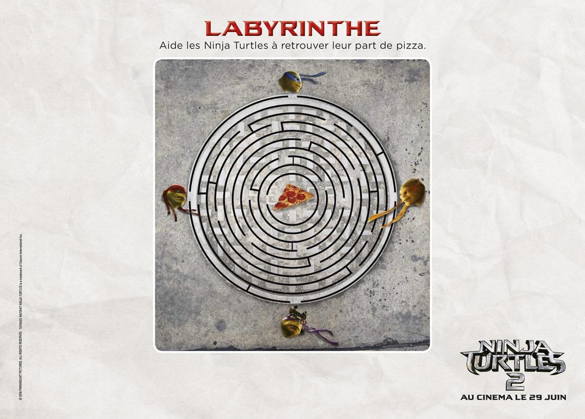 Jeux de labyrinthe ninja turtles 2 - Jeux de tortues ninja gratuit ...