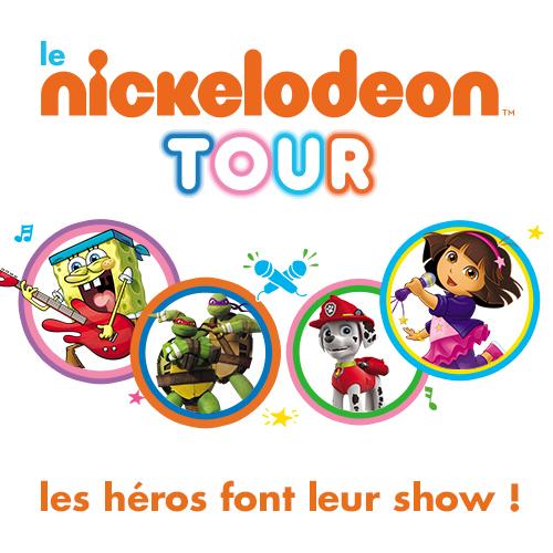 Le Nickelodeon Tour dans les villages vacances Sunêlia !