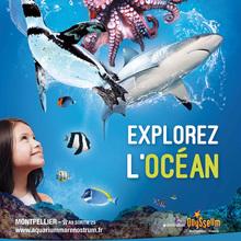Gagne des pass pour l'Aquarium Mare Nostrum de Montpellier