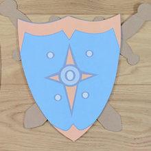 Fabriquer un bouclier de chevalier
