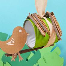 Fabriquer une cabane à oiseaux