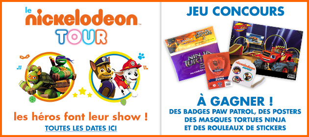 Concours nickelodeon klepierre