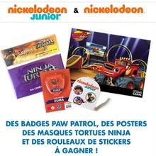 Gagne des goodies Nickelodeon !