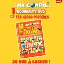 Joue et gagne des DVD MA COMPIL pour Halloween !